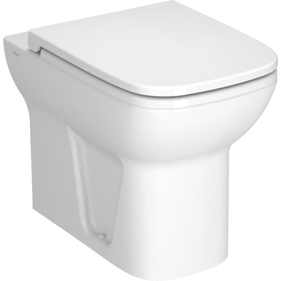 Vitra - S20 Model Back to Wall Toilet Pan - with 2 x Seat Options profile large image view 1