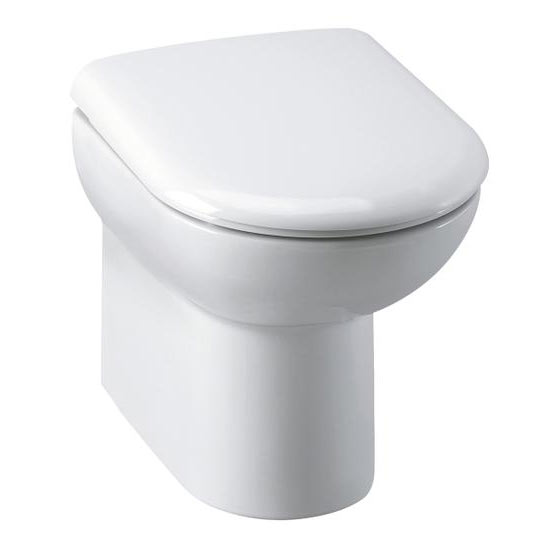 Nuie D-Shape Back To Wall Pan (excluding Seat)