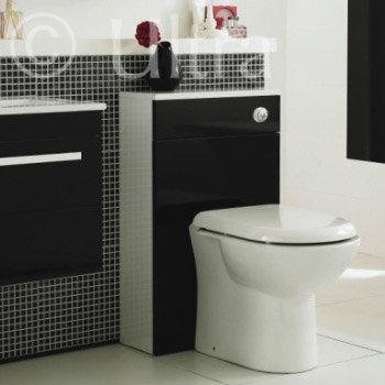 Ultra Design Black BTW Toilet Unit Inc. Cistern + Soft Close Seat Profile Large Image