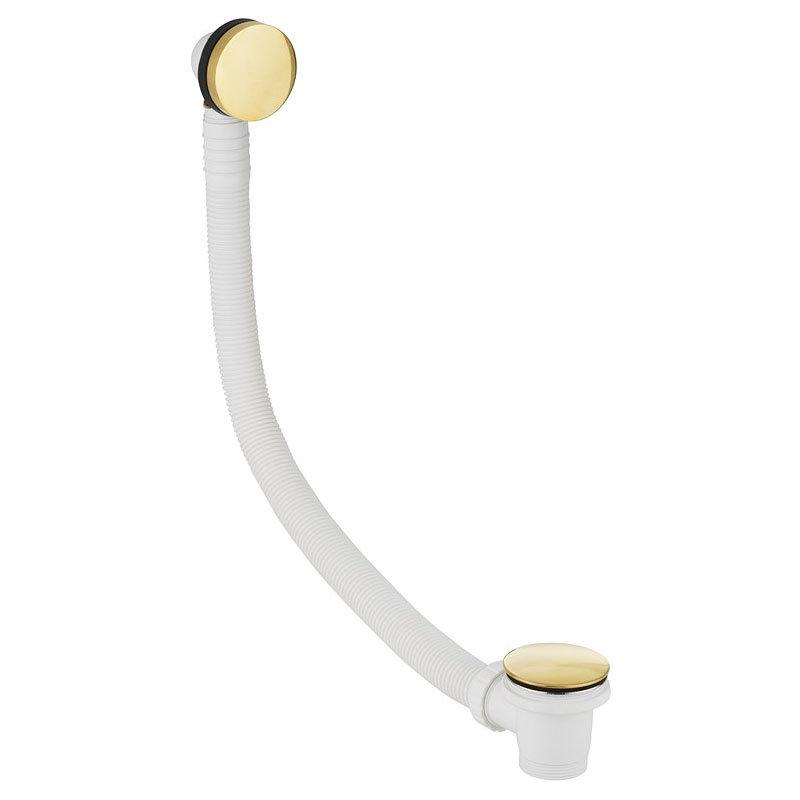 Crosswater Bath Click Clack Waste - Unlacquered Brass - BTW0202Q