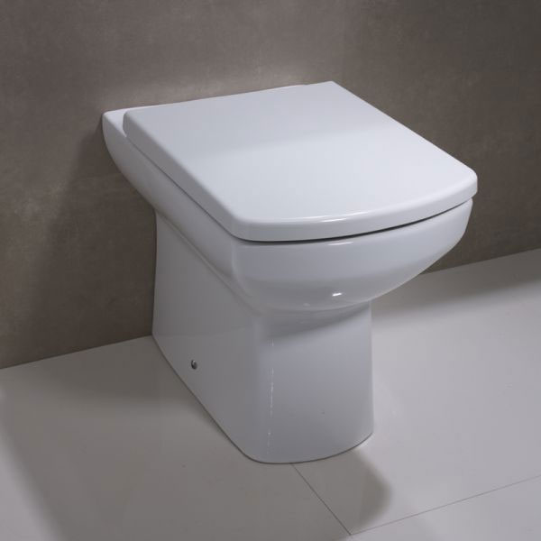 Tavistock Vibe Back to Wall Pan & Soft Close Seat profile large image view 2