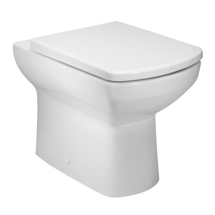 Tavistock Vibe Back to Wall Pan & Soft Close Seat profile large image view 1