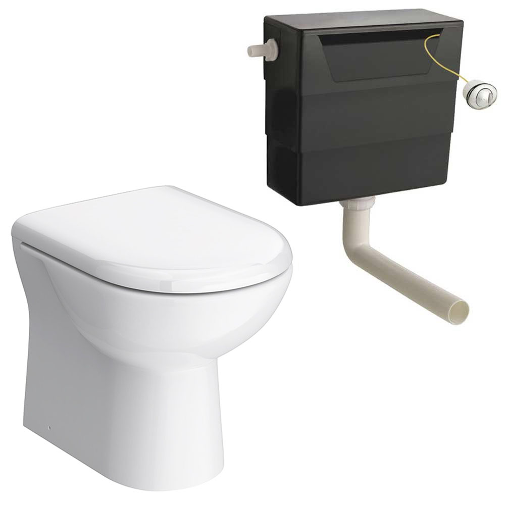 Back To Wall Toilet With Soft Close Seat And Concealed