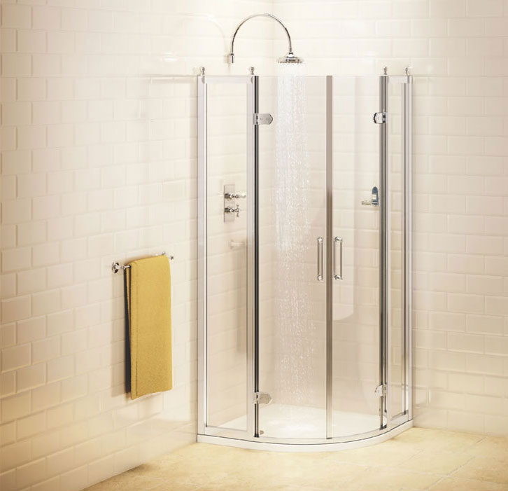 Burlington Traditional Quadrant Shower Enclosure Large Image