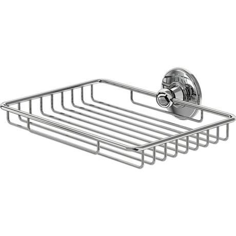 Burlington - Large Chrome Sponge Basket - A15CHR