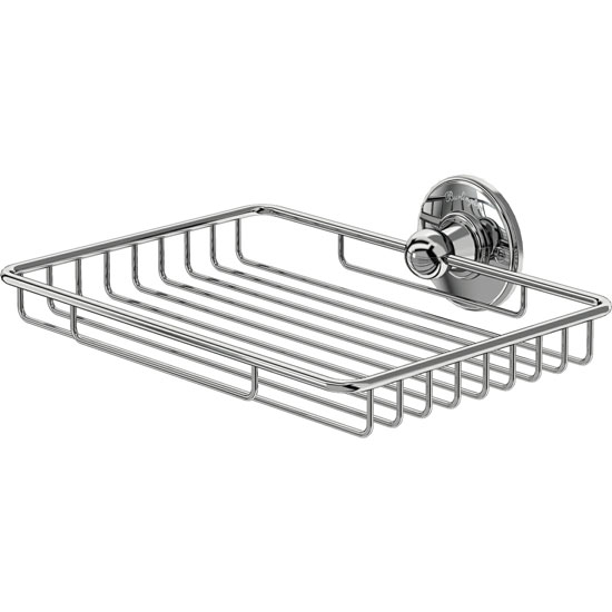 Burlington - Large Chrome Sponge Basket - A15CHR profile large image view 1