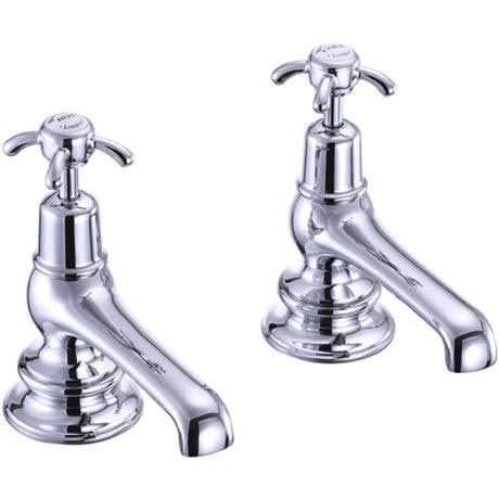 Burlington Anglesey Regent - Chrome Bath Taps - ANR3