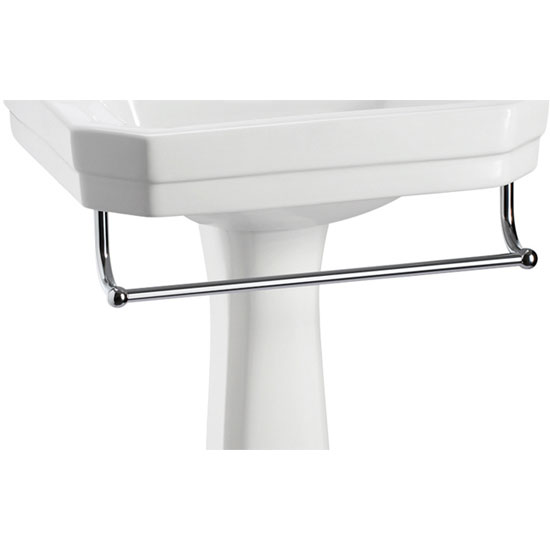 Burlington Medium Add On Towel Rail For Selected Basin