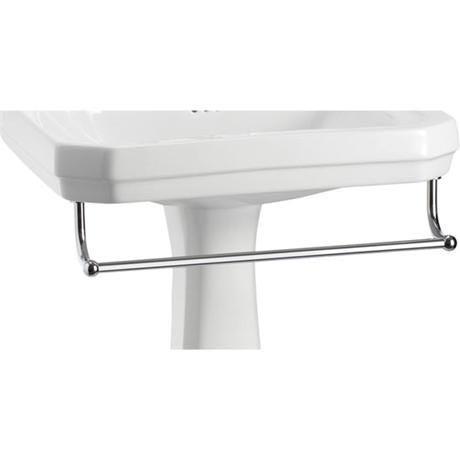 Burlington - Large Add On Towel Rail - For Selected Basin/Pedestal Sets - T3