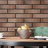 Burford Orange Brick Effect Wall Tiles - 250 x 60mm Small Image