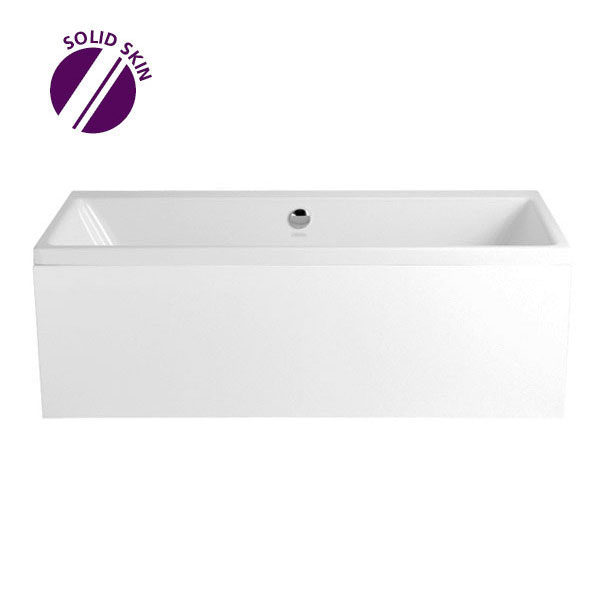 Heritage Blenheim Double Ended Bath with Solid Skin (1700x750mm) Large Image