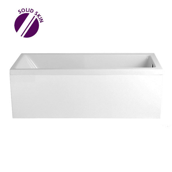 Heritage Blenheim Single Ended Bath with Solid Skin (1700x700mm) Large Image