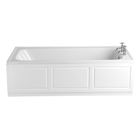 Heritage Victoria Super Deep Single Ended Bath with Solid Skin (1800x800mm)