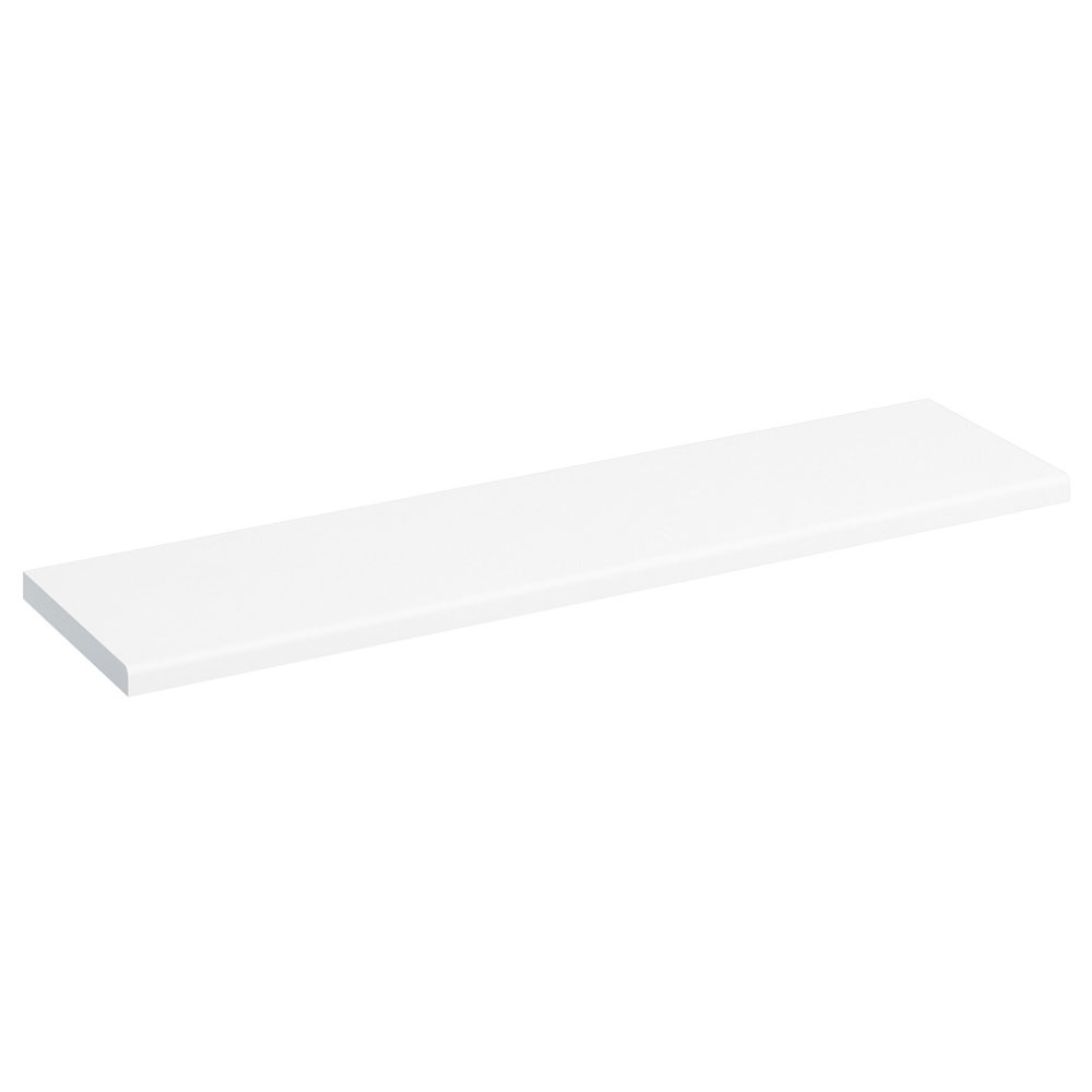 Burlington 120cm Minerva Worktop - White Large Image