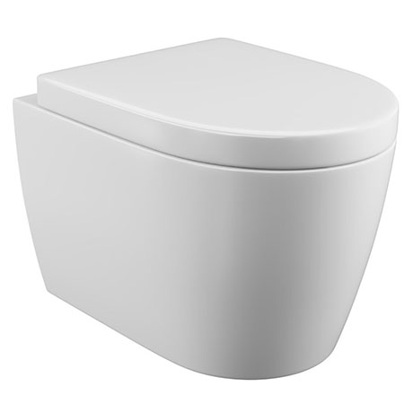 Bianco Wall Hung Toilet Inc. Soft Close Seat
