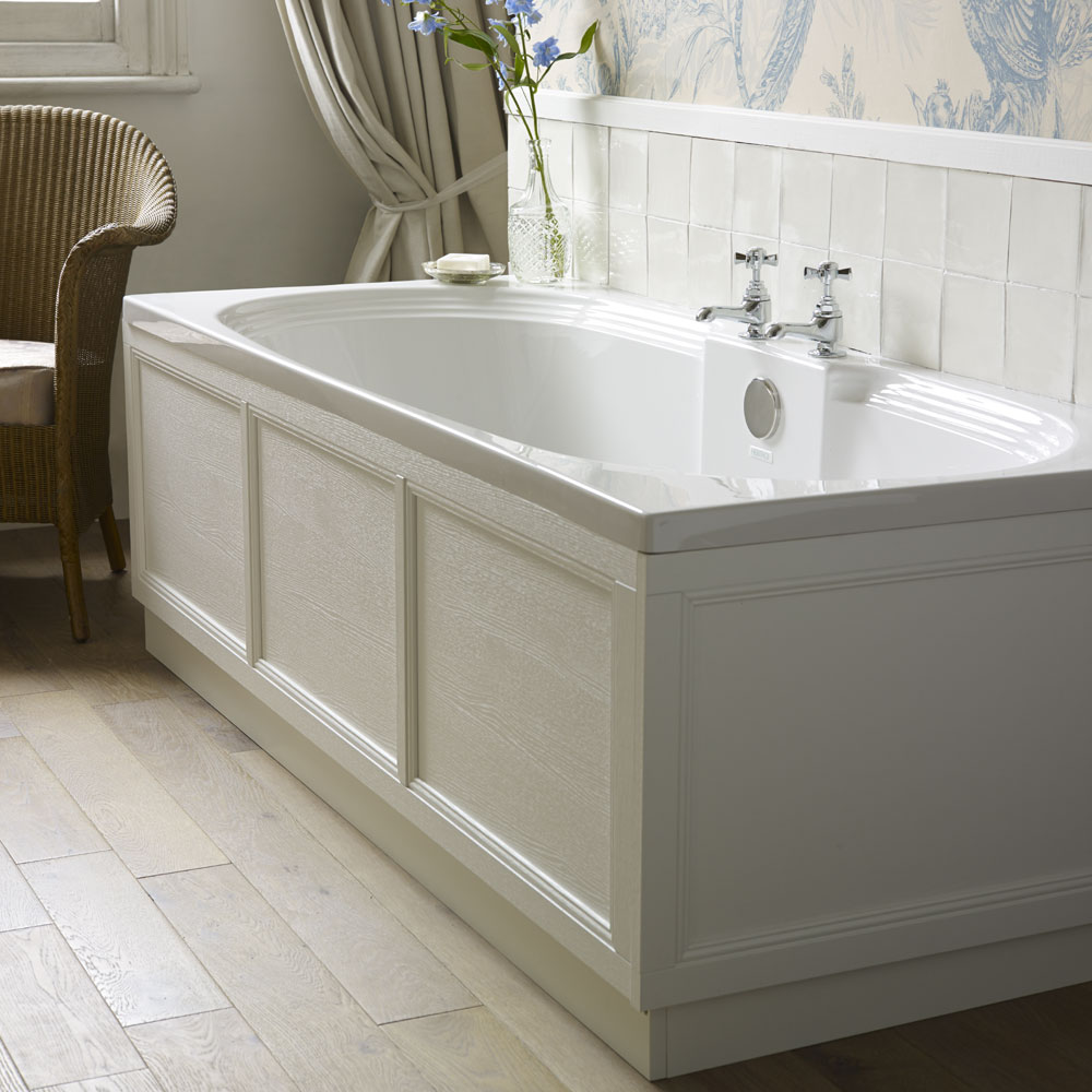 Heritage Dorchester Double Ended Bath with Solid Skin (1800x800mm) profile large image view 2