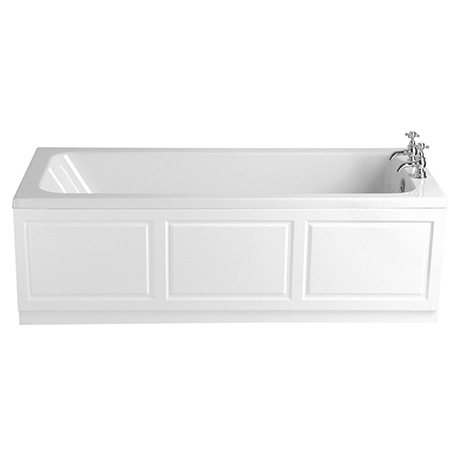 Heritage Wynwood Single Ended Bath with Solid Skin (1700x750mm)