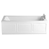 Heritage Wynwood Single Ended Bath with Solid Skin (1700x750mm) profile small image view 1