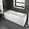 Buxton Double Ended Bath profile small image view 1