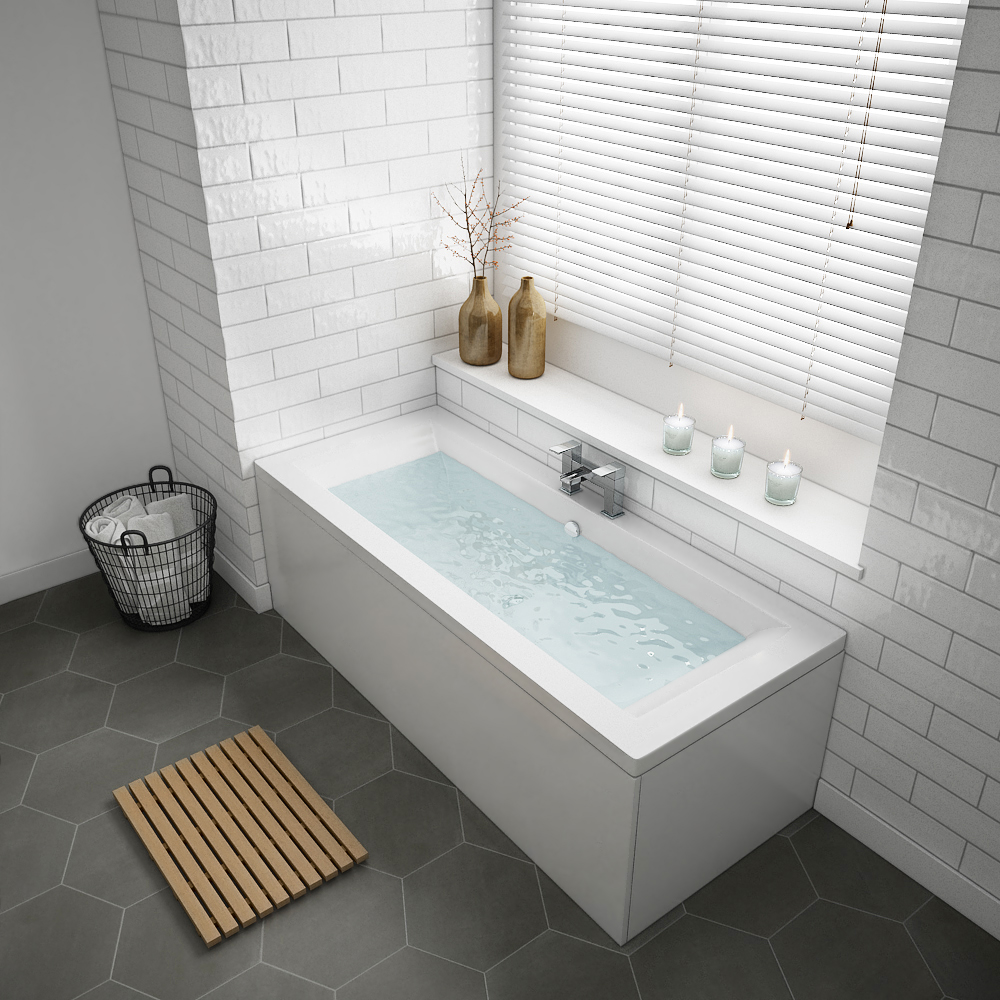 Buxton Double Ended Bath + Panels