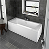 Buxton Premiercast Double Ended Bath profile small image view 1
