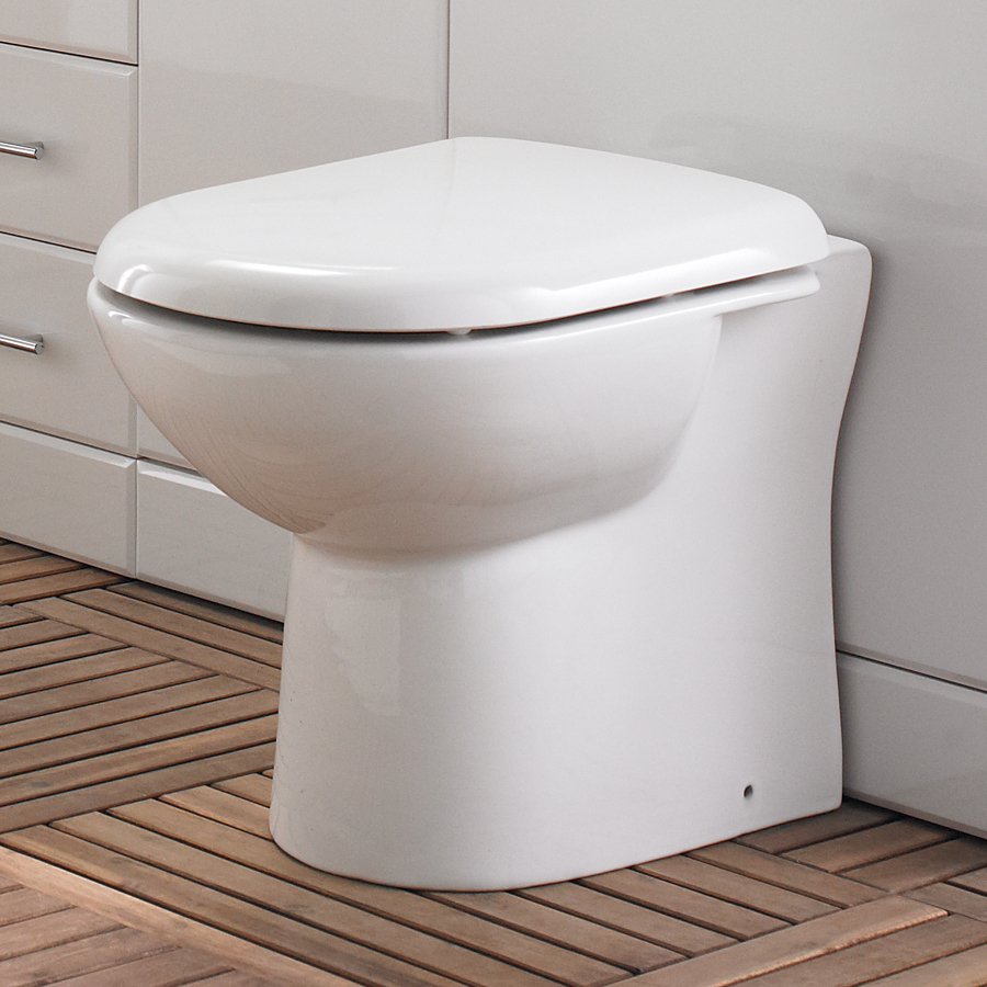 Back to Wall Toilet with Soft Close Seat Feature Large Image