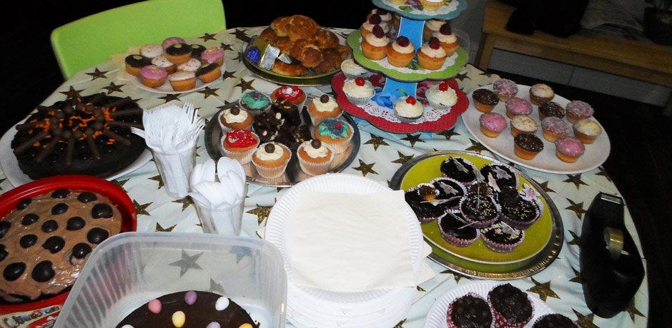 bake off cake selection
