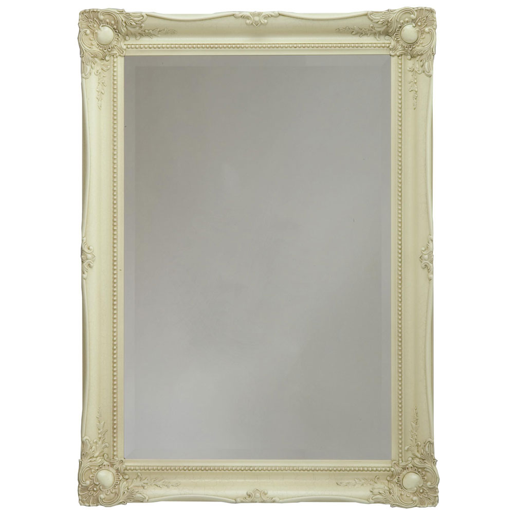 Heritage Balham Mirror (910 x 660mm) - Cream Large Image