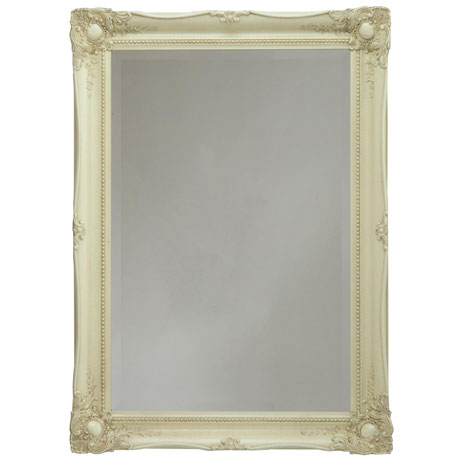 Heritage Balham Mirror (910 x 660mm) - Cream