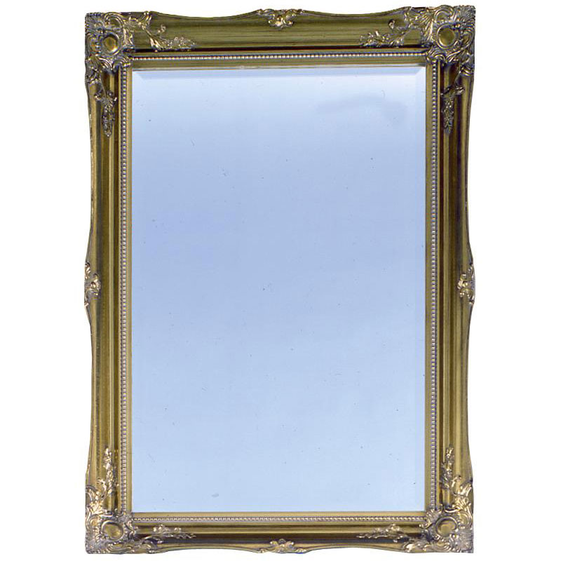 Heritage Balham Mirror (910 x 660mm) - Antique Gold Large Image