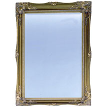 Heritage Balham Mirror (910 x 660mm) - Antique Gold Medium Image