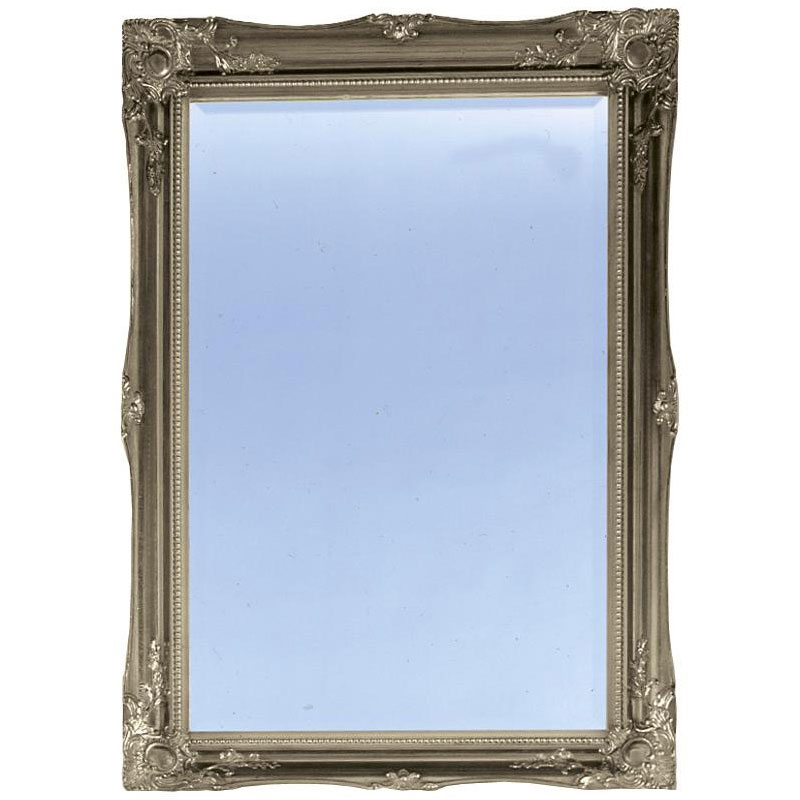 Heritage Balham Mirror (910 x 660mm) - Gilt Silver Large Image