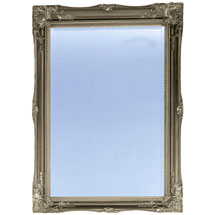 Heritage Balham Mirror (910 x 660mm) - Gilt Silver Medium Image
