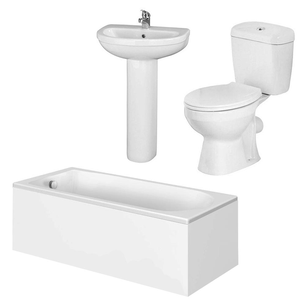 Barmby 5 Piece 1TH Bathroom Suite Feature Large Image