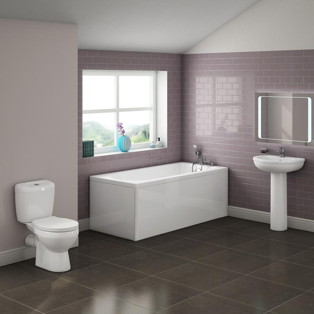 Barmby 5 Piece 1TH Bathroom Suite Large Image