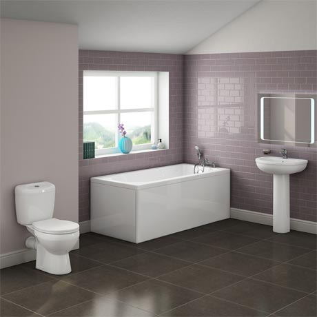 Barmby 5 Piece 1TH Bathroom Suite