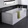 Barmby Single Ended Bath with Panels Medium Image