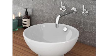 Wash Basin in a Bathroom