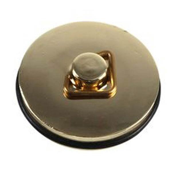 """1 3/4"""" Bath Plug - Gold - 90009822 Large Image"""