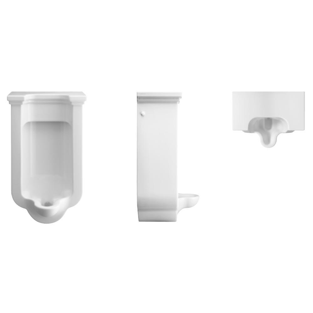 Bauhaus Waldorf Art Deco Wall Hung Urinal profile large image view 2