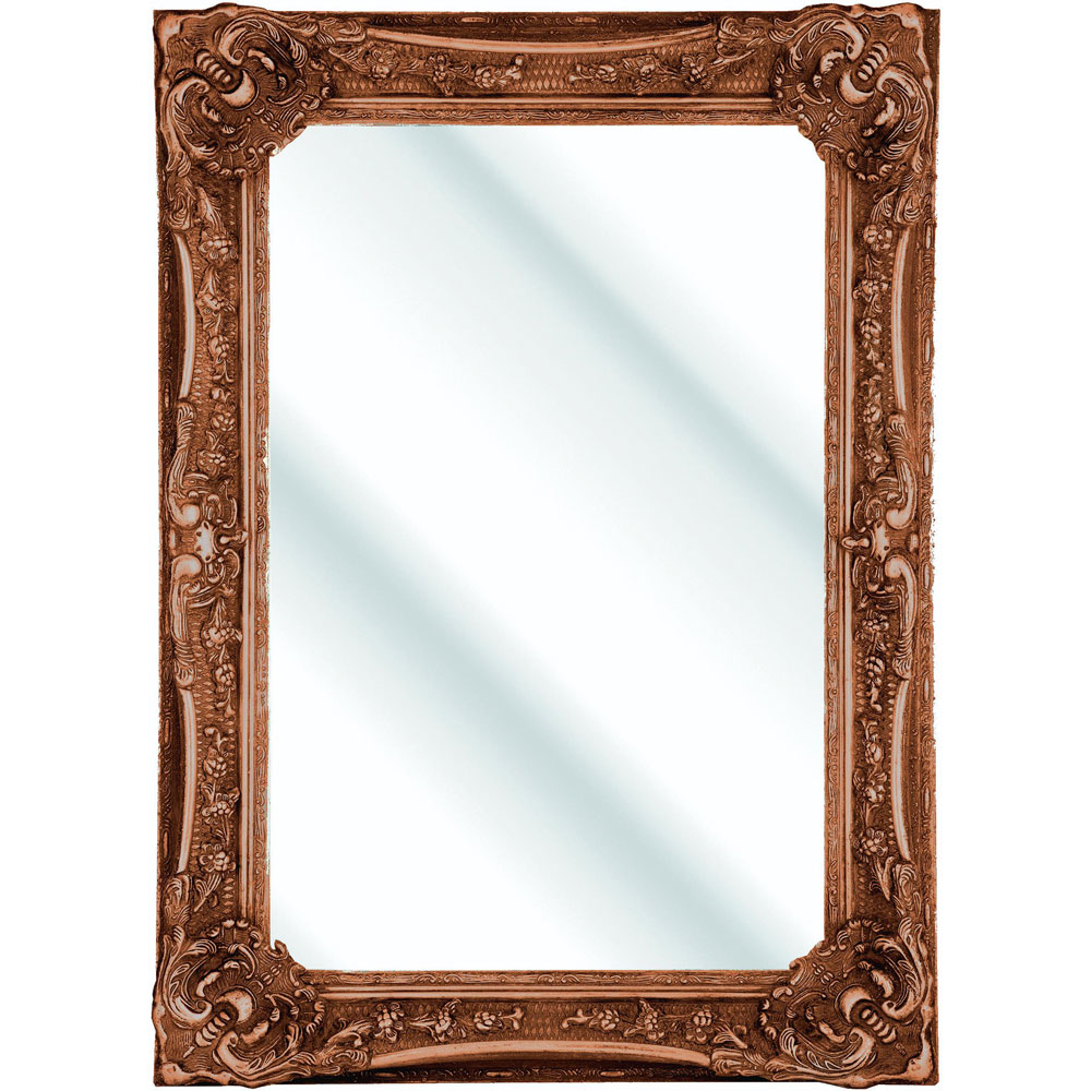 Heritage Bayswater Mirror (1090 x 790mm) - Burnished Gold Large Image