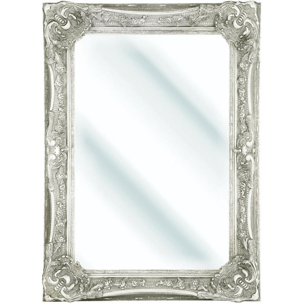Heritage Bayswater Mirror (1090 x 790mm) - Ivory profile large image view 1