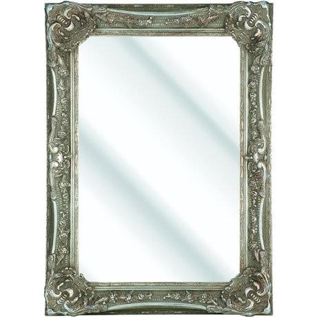 Heritage Bayswater Mirror (1090 x 790mm) - Vintage Silver