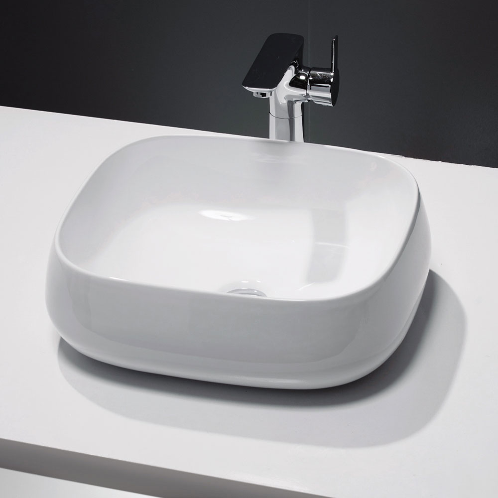 Bella Counter Top Basin 0TH - 450 x 410mm Large Image