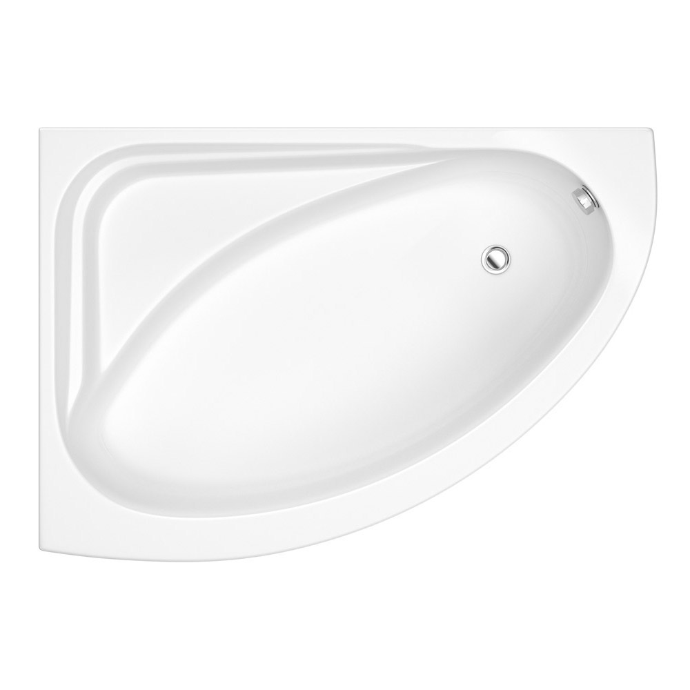 Bianco Bathroom Suite with Orlando Corner Bath profile large image view 2