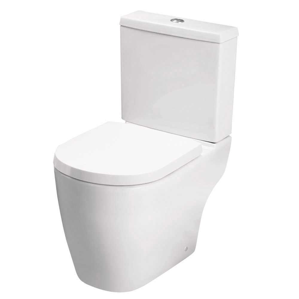 Bianco Bathroom Suite with Single Ended Bath - 3 Bath Size Options Profile Large Image