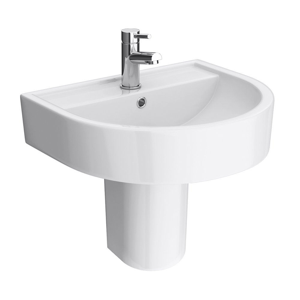 Large Wall Hung Basin : are pleased you would like to review the Bianco Modern Wall Hung Basin ...