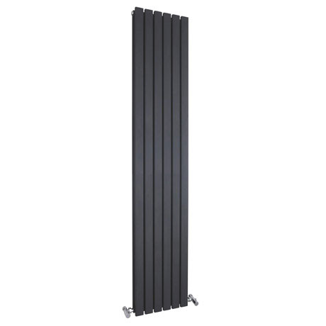 Bilbao Anthracite Double Panel Designer Radiator (1800 x 354mm)