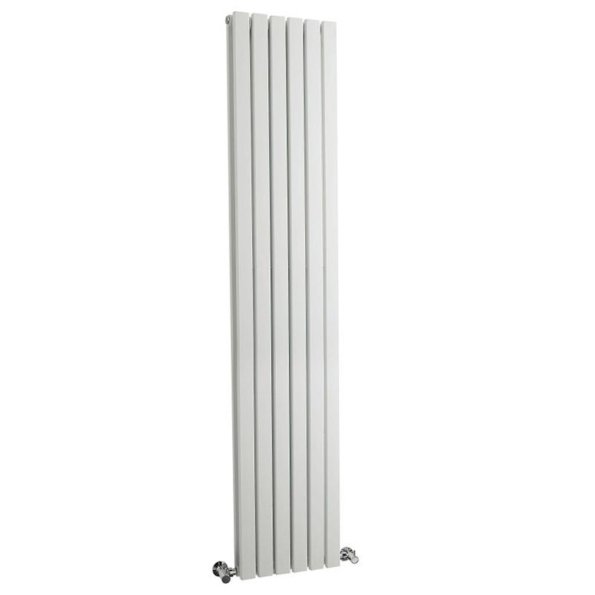 Bilbao White Double Panel Designer Radiator (1800 x 354mm)