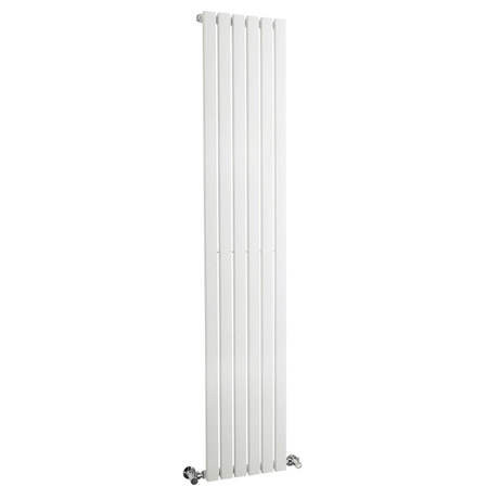 Bilbao White Single Panel Designer Radiator (1800 x 354mm)